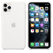 Силиконовый чехол Apple Silicone Case White для iPhone 11 Pro Max