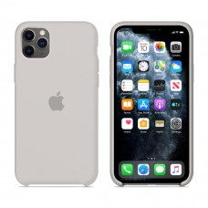 Силиконовый чехол Apple Silicone Case Stone для iPhone 11 Pro Max