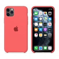 Силиконовый чехол Apple Silicone Case Ultra Peach для iPhone 11 Pro Max