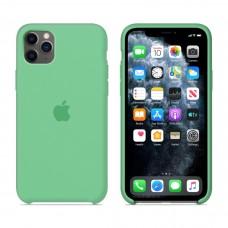 Силиконовый чехол Apple Silicone Case Spear Mint для iPhone 11 Pro Max