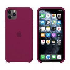 Силиконовый чехол Apple Silicone Case Rose Red для iPhone 11 Pro Max