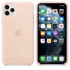 Силиконовый чехол Apple Silicone Case Pink Send для iPhone 11 Pro Max