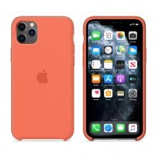 Силиконовый чехол Apple Silicone Case Orange для iPhone 11 Pro Max