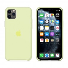 Силиконовый чехол Apple Silicone Case Mellow Yellow для iPhone 11 Pro Max
