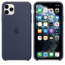 Силиконовый чехол Apple Silicone Case Midnight Blue для iPhone 11 Pro Max
