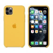 Силиконовый чехол Apple Silicone Case Lemonade для iPhone 11 Pro Max