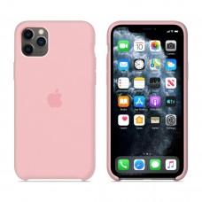Силиконовый чехол Apple Silicone Case Light Pink для iPhone 11 Pro Max