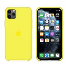 Силиконовый чехол Apple Silicone Case Flash для iPhone 11 Pro Max