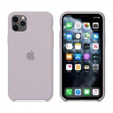 Силиконовый чехол Apple Silicone Case Lavander для iPhone 11 Pro Max