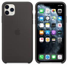 Силиконовый чехол Apple Silicone Case Black для iPhone 11 Pro Max
