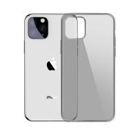 Черно-прозрачный силиконовый чехол для iPhone 11 Pro