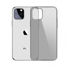 Черно-прозрачный силиконовый чехол для iPhone 11 Pro Max