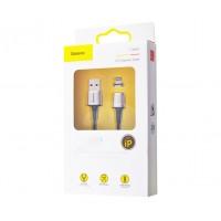 Кабель Baseus USB to Lightning Zinc Magnetic 2.4A черный (1 метр)