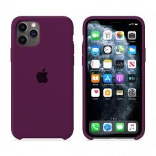 Силиконовый чехол Apple Silicone Case Marsala для iPhone 11 Pro