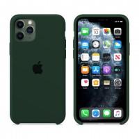 Силиконовый чехол Apple Silicone Case Forest Green для iPhone 11 Pro Max