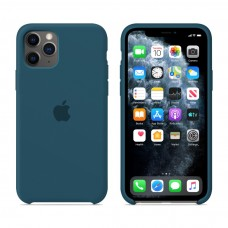 Силиконовый чехол Apple Silicone Case Cosmos Blue для iPhone 11 Pro