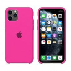 Силиконовый чехол Apple Silicone Case Barbie Pink для iPhone 11 Pro Max