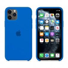 Силиконовый чехол Apple Silicone Case Royal Blue для iPhone 11 Pro