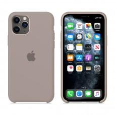 Силиконовый чехол Apple Silicone Case Pebble для iPhone 11 Pro Max