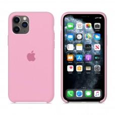 Силиконовый чехол Apple Silicone Case Pink для iPhone 11Pro