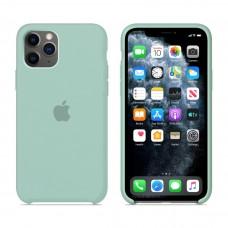 Силиконовый чехол Apple Silicone Case Mint для iPhone 11 Pro