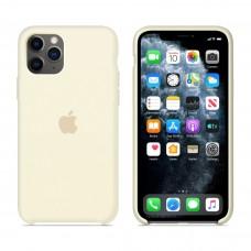 Силиконовый чехол Apple Silicone Case Antique White для iPhone 11 Pro