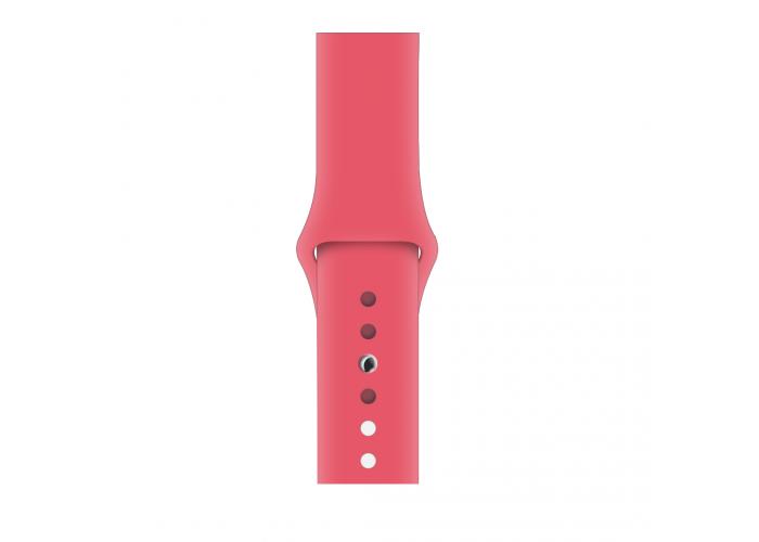 Силиконовый ремешок для Apple Watch 38/42мм Red Raspberry