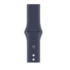 Силиконовый ремешок для Apple Watch 38/40/42/44мм Midnight Blue