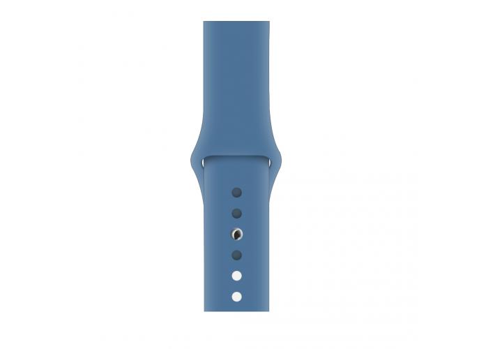 Силиконовый ремешок для Apple Watch 38/40/42/44мм Denim Blue