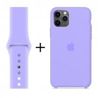 Набор 1 + 1: Чехол и ремешок для Apple Watch