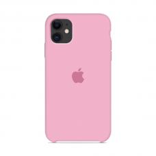 Силиконовый чехол Apple Silicone Case Pink для iPhone 11