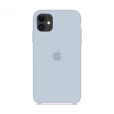 Силиконовый чехол Apple Silicone Case Mist Blue для iPhone 11