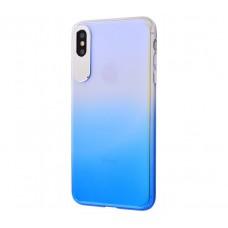 Чехол для iPhone Xr Rock Classy Gradient синий