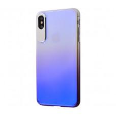 Чехол для iPhone Xr Rock Classy Gradient фиолетовый