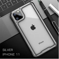 Чехол IPAKY Lecoo Series Case для iPhone 11 Pro Серебристый