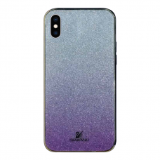 Чехол Swarovski Purple Gradient для iPhone X/Xs
