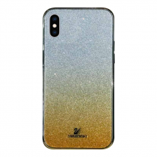 Чехол Swarovski Yellow Gradient для iPhone X/Xs