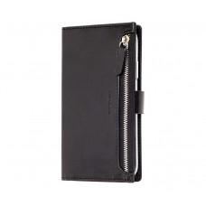 Чехол-книжка Molan Cano Zipper для iPhone 11 Pro Черный