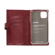 Чехол-книжка Molan Cano Zipper для iPhone 11 Бордовый