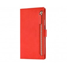 Чехол-книжка Molan Cano Zipper для iPhone 11 Красный