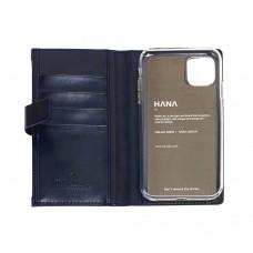 Чехол-книжка Molan Cano Zipper для iPhone 11 Синий