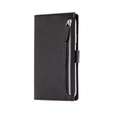 Чехол-книжка Molan Cano Zipper для iPhone 11 Черный