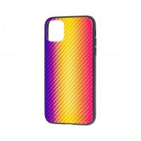 Чехол Twist Glass для iPhone 11 Pro Оранжевый