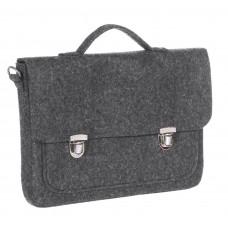 """Портфель-сумка Gmakin GS08-13.3 (Macbook Pro 13.3"""") Черный"""