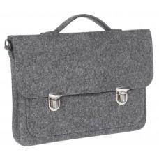 """Портфель-сумка Gmakin GS09-13.3 (Macbook Pro 13.3"""") Серый"""