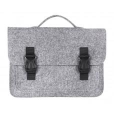 """Портфель-сумка Gmakin GS16-13.3 (Macbook Pro 13.3"""") Серый с пластиковыми застежками"""