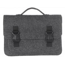 """Портфель-сумка Gmakin GS17-13.3 (Macbook Pro 13.3"""") Черный с пластиковыми застежками"""