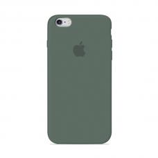 Силиконовый чехол Apple Silicone Case Pine Green для iPhone 6/6s