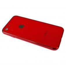 Чехол для iPhone 6/ 6s Silicone Logo Case Red (Красный)