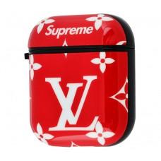 "Чехол для AirPods Young Style ""Supreme LV Big"""